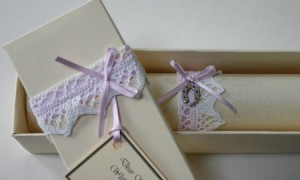 Wedding scroll with ribbon to match occasion