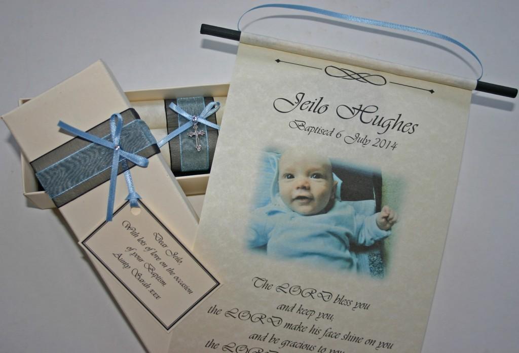 Personalised Baptism gift