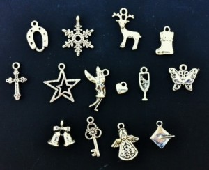 Scroll charms