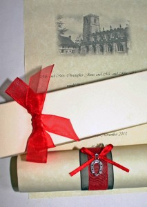 Wedding-scroll-invitations