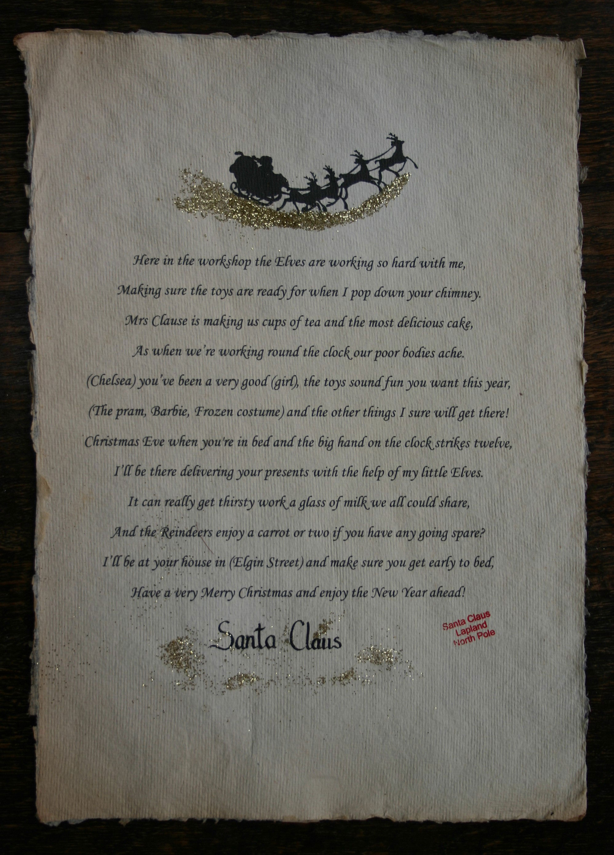 Santa Scrolls