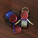 Wax seal options for personalised scroll