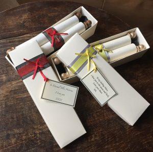 Gift scrolls