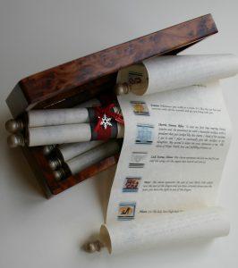 Personalised, customised scroll